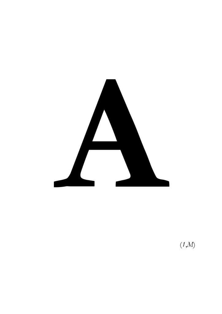 A(1,M)